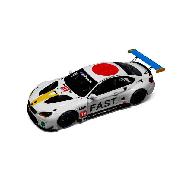 Модель BMW M6 GTLM Art Car John Baldessari