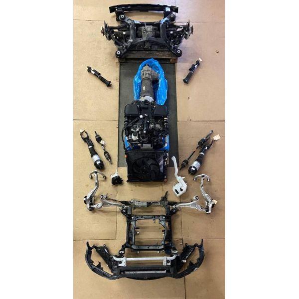 Автоматическая коробка передач 9-ступенчатая GLE (W166), GLE (W292), GLS (X166)