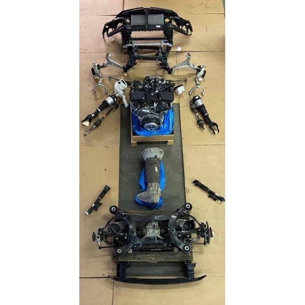 Автоматическая коробка передач 9-ступенчатая GLE W292