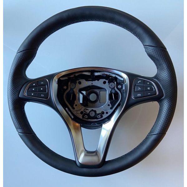 Кожаный руль CLS W218